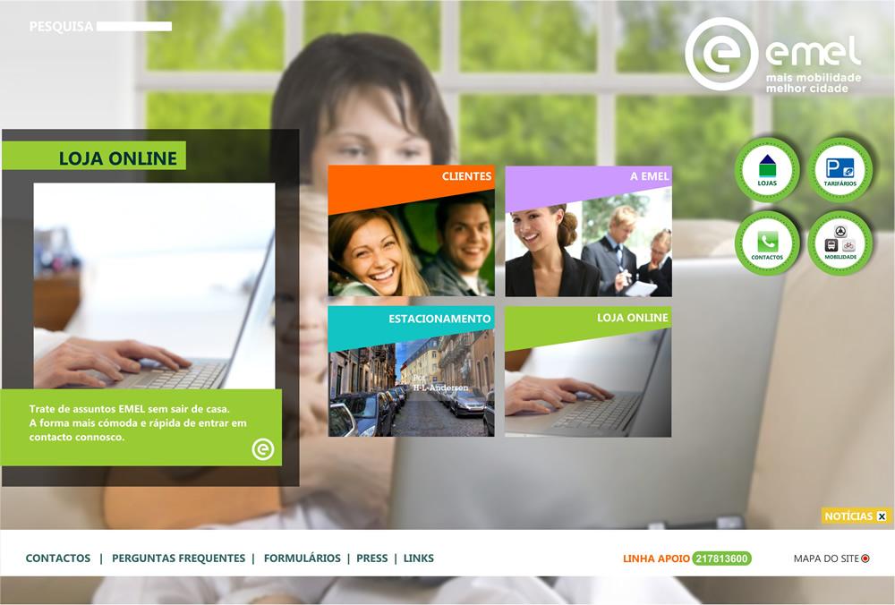EMEL - PROPOSTA WEBSITE
